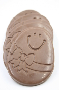 Chocolate Smiley Egg
